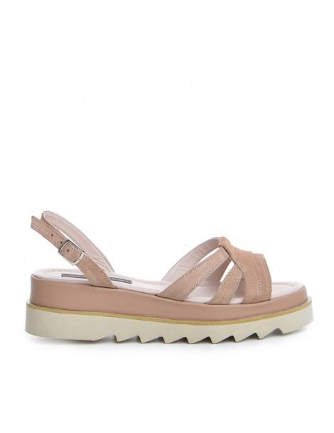 Sandale dama Cappuccino Amy...