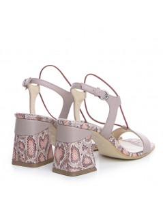 Sandale dama Piele Naturala Nude Tanya - The5thelement.ro