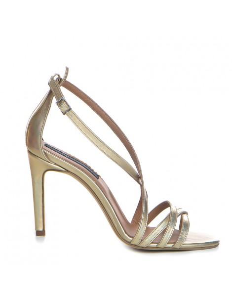 Sandale dama Auriu Riley...
