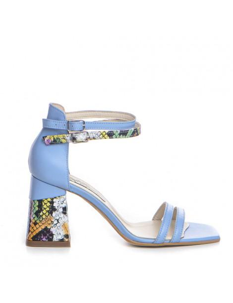 Sandale dama Bleu Lime Lara...