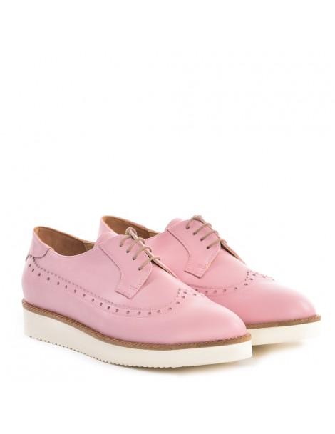 Pantofi dama Oxford Rose din Piele Naturala - The5thelement.ro