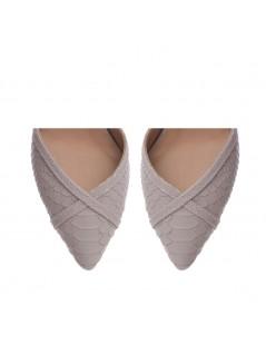 Pantofi Stiletto Piele Naturala Lila Rihanna - The5thelement.ro