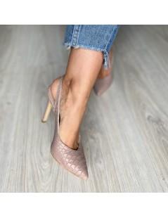 Pantofi Stiletto Piele Naturala Lila Kate - The5thelement.ro