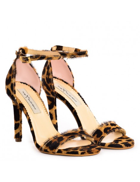 Sandale dama Simple Animal Print Piele Naturala - The5thelement.ro
