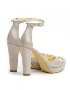 Sandale dama The 70's Bride Nude Piele Naturala - The5thelement.ro