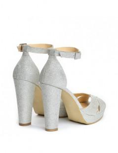 Sandale dama Chic Glitter Piele Naturala - The5thelement.ro