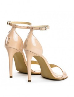 Sandale dama Simple Nude Glow Piele Naturala - The5thelement.ro