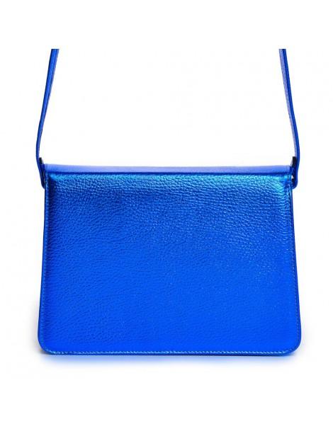 Geanta Dama Piele Naturala Mini-G Electric Blue - The5thelement.ro