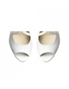 Sandale dama Lady Like Ivoire Piele Naturala - The5thelement.ro
