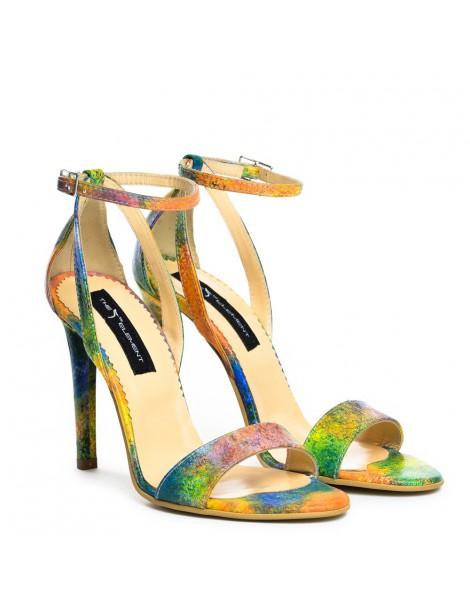 Sandale dama Simple Rainbow Piele Naturala - The5thelement.ro