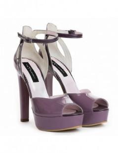 Sandale dama Pretty Purple Piele Naturala - The5thelement.ro