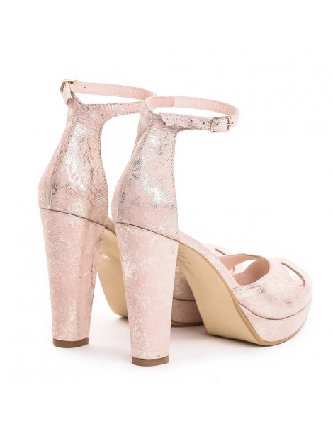 Sandale dama The 70's Rose Gold Piele Naturala - The5thelement.ro
