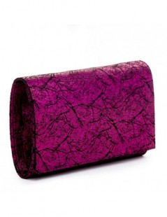Clutch Magenta Vintage - The5thelement.ro