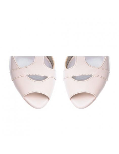 Sandale dama Anais NUDE ROSE Piele Naturala - The5thelement.ro