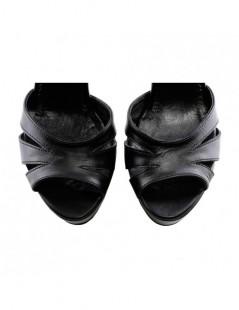 Sandale dama Vortex Black Piele Naturala - The5thelement.ro