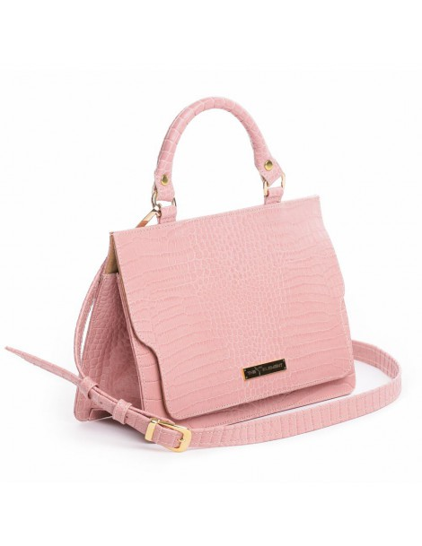Geanta Piele Naturala Dama Lily Rose Croco - The5thelement.ro