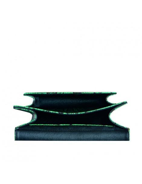 Geanta Piele Naturala Dama Urban Bag Verde Snake - The5thelement.ro