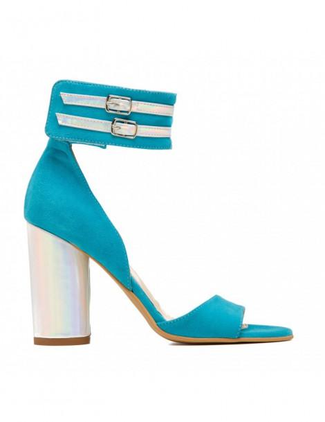 Sandale dama Wild Thing Turquoise Piele Naturala - The5thelement.ro