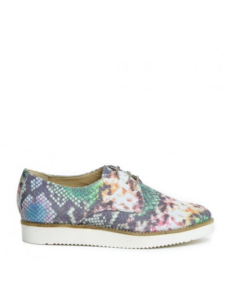 Pantofi dama Chameleon Snake din Piele Naturala - The5thelement.ro