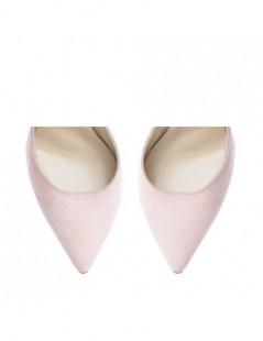 Pantofi dama Stiletto Rose Piele Naturala - The5thelement.ro
